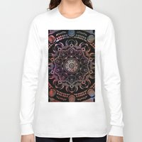 chakra Long Sleeve T-shirts featuring CHAKRA by Spectronium - Art by Pat McWain