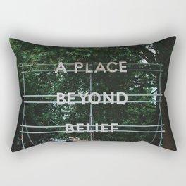 A Place Beyond Belief Rectangular Pillow