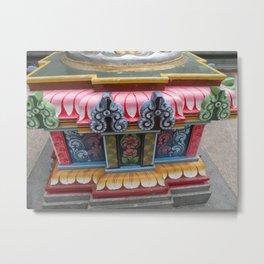 Sri Mariamman Indian Temple, Singapore Metal Print