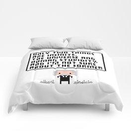 Albert Einstein Comforters