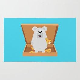 Polar Bear in Rug