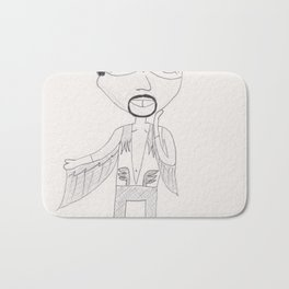 Falcon is the sexiest adventurer Bath Mat