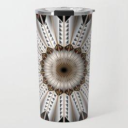 Feather Design Travel Mug