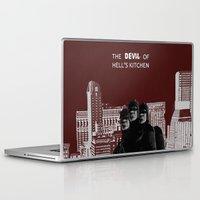 daredevil Laptop & iPad Skins featuring Daredevil by amyskhaleesi