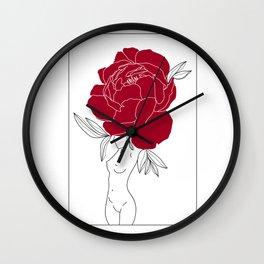 Feminine Wall Clock