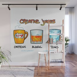 Creative Juices Wall Mural
