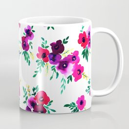 Ava Floral Pink Coffee Mug