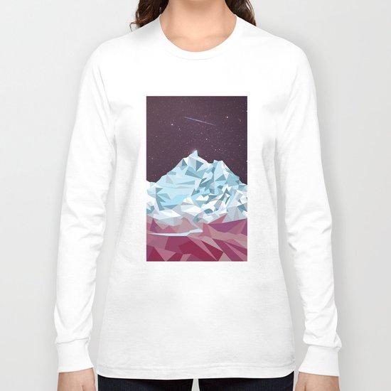 Night Mountains No. 25 Long Sleeve T-shirt