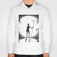jack frost Hoodies featuring Jack Frost (Rise of the Guardians) by Grazia Vincoletto