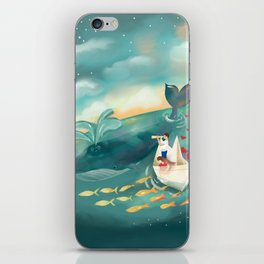 Adventures at Sea iPhone Skin