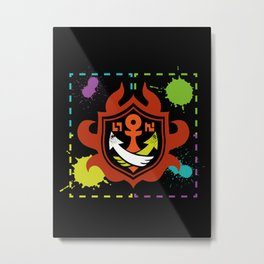 Splatoon - Game of Zones Metal Print