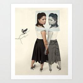 selfsame  Art Print