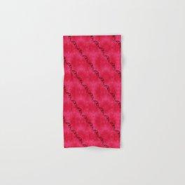 Red Ribbon Hand & Bath Towel