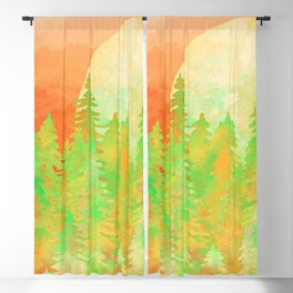 The Forest Moon Blackout Curtain