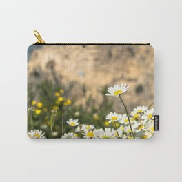 Spring Camomile Carry-All Pouch
