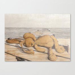 where did childhood go? Canvas Print