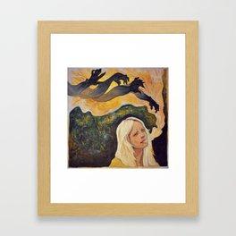 Laura Marling // The beast Framed Art Print