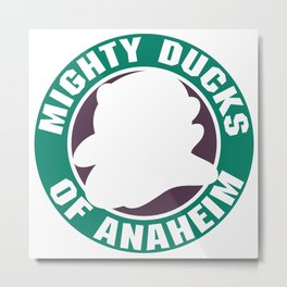 mighty ducks hockey Metal Print