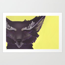 Wolf - Lord of Night Art Print