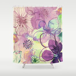 FLORAL PATTERN30 Shower Curtain
