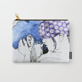 NUDEGRAFIA - 33 Purple Hair Carry-All Pouch