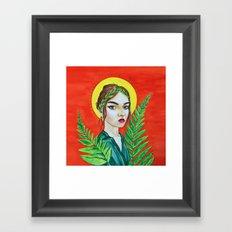 The Goddess of Youth Framed Art Print