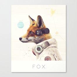 Star Team - Fox Canvas Print