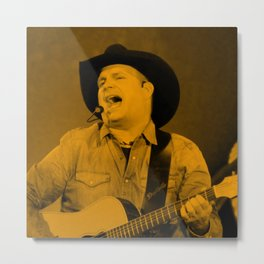 Garth Brooks - Celebrity Metal Print