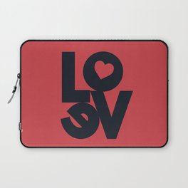 Love illustration, wall art, gift for couples, present for him, for her, Valentine's Day Laptop Sleeve