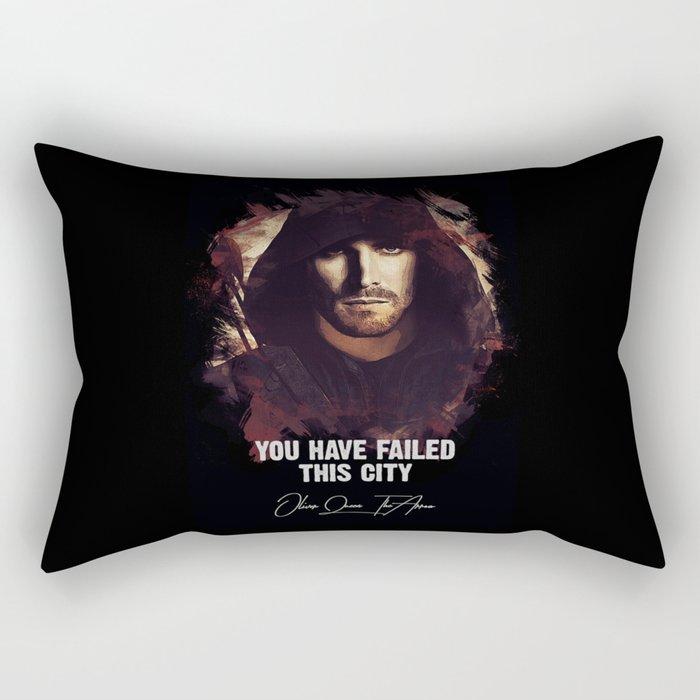 You Have Failed This City - The ARROW Rectangular Pillow