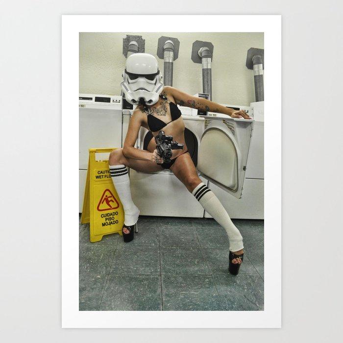 Coco Trooper Art Print