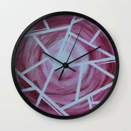 Sectioned  Wall Clock