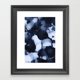 BLUE INK 22 Framed Art Print
