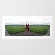 Mindblown by Counter Worldview Art Print