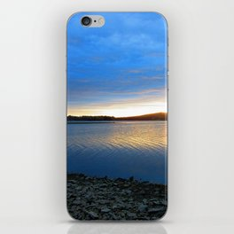 The blues of the evening iPhone Skin