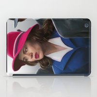 peggy carter iPad Cases featuring Agent Carter by DandyBee