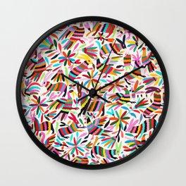 Colores de Primavera Wall Clock