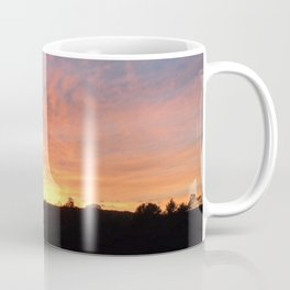 Color drenched sunset Coffee Mug