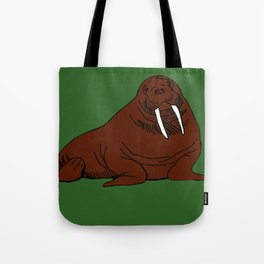 The august walrus Tote Bag