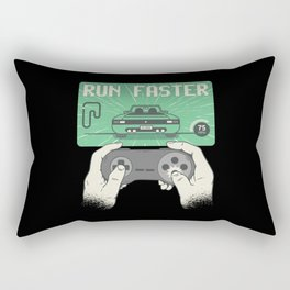 Car Racing Video Game Rectangular Pillow