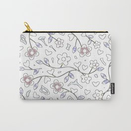 Floral Day Carry-All Pouch