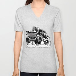57 Gasser REV-3 BLACK Unisex V-Neck