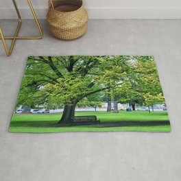 A Little Town Square, Melbourne Rug