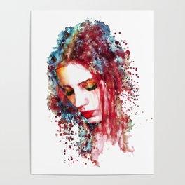 Sad Woman Poster