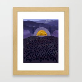 Hollywood Bowl Framed Art Print