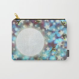 the moon, stars, fireflies, & roses Carry-All Pouch