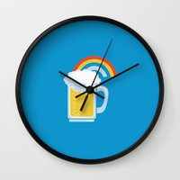 happiness Wall Clocks featuring Happiness by Boots