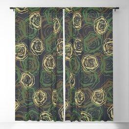 Rose Camo WOODLAND Blackout Curtain