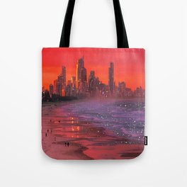 Somewhere in the future  Tote Bag
