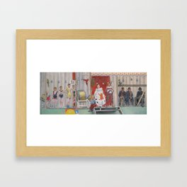 Grimaces and Miseries - The Acrobats, by Fernand Pelez Framed Art Print